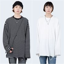 大人気!【Raucohouse】 grunge cutting long sleeve/男女兼用