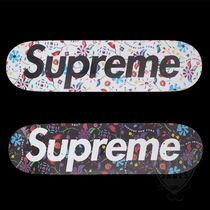 SS19 SUPREME AIR BRUSHED FLORAL DECK 2色 WHITE BLACK