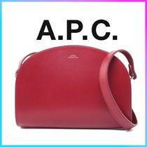 A.P.C.♥ハーフムーン♥クロスボディバッグ