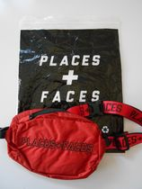 PLACES+FACES(プレイシズ プラス フェイシズ) ショルダーバッグ 送料無料!PLACES+FACES WAIST BAG / RED