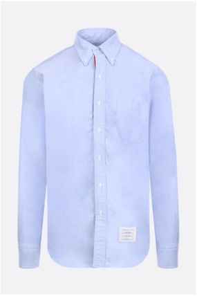 THOM BROWNE シャツ ☆THOM BROWNE☆cotton poplin shirt with tricolor detail