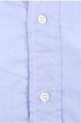 THOM BROWNE シャツ ☆THOM BROWNE☆cotton poplin shirt with tricolor detail(3)