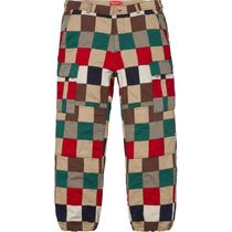 1 WEEK Supreme SS 19 Patchwork Cargo Pant