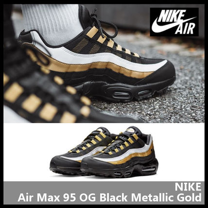 c59efe1b5992 BUYMA| NIKE Air Max 95 OG Black Metallic Gold AT2865-002 41726339