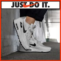 ☆韓国の人気☆【ナイキNIKE】☆WMNS AIR MAX 90☆WHITE/BLACK☆