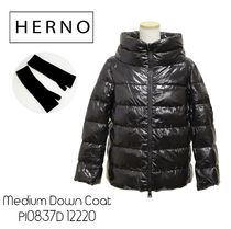 HERNO Medium Down Coat PI0837D 12220 アームウォーマー付き