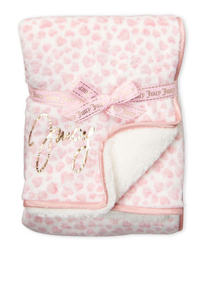 JUICY COUTURE キッズ・ベビー・マタニティその他 ☆JUICY COUTURE☆girls infant ブランケット/ハート柄