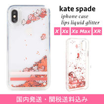 【国内発送】lips liquid glitter iphone X/Xs/Xs Max/XR case