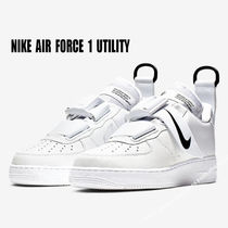 NIKE★AIR FORCE 1 UTILITY★バックル★ロゴ