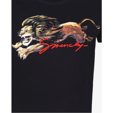 GIVENCHY Tシャツ・カットソー 19SS【GIVENCHY】レオプリントフィットTシャツ(7)