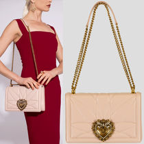 19SS DG1934 LARGE DEVOTION BAG IN QUILTED NAPPA LEATHER