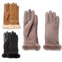Sale!UGG  Sheepskin Exposed Slim Gloves スマホ対応
