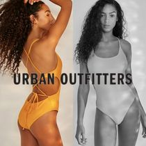 Urban Outfitters(アーバンアウトフィッターズ) ワンピース水着 【日本未入荷】*URBAN OUTFITTERS* バックコンシャス 紐付 水着