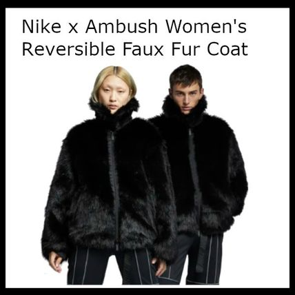 075cff378c3e Nike パーカー・フーディ 大人気☆NIKE☆Nike x Ambush Women's Reversible Faux Fur Coat ...