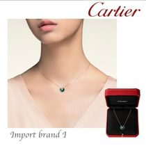 031cb059f7 【Cartier】正規店CARTIER AMULET NECKLACE XS ROSE GOLD green