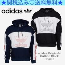 ★adidas Originals★Men's★Outline Block フーディ★