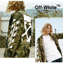 【OFF-WHITE】Diag Camo Field Jacket (関税送料込)