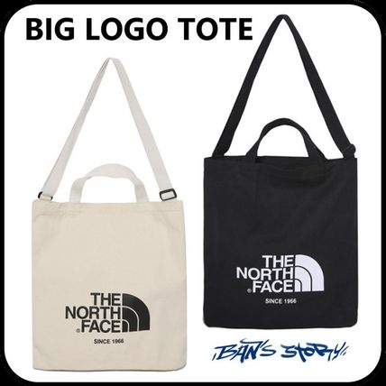 THE NORTH FACE トートバッグ [THE NORTH FACE] WHITE LABEL BIG LOGO TOTE TOTE BAG _NN2PK09(2)