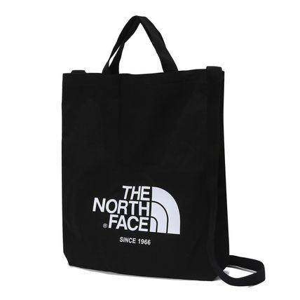 THE NORTH FACE トートバッグ [THE NORTH FACE] WHITE LABEL BIG LOGO TOTE TOTE BAG _NN2PK09(3)