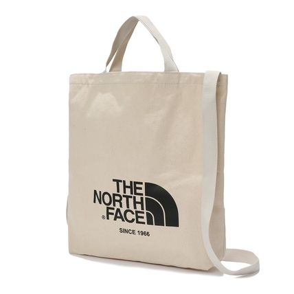 THE NORTH FACE トートバッグ [THE NORTH FACE] WHITE LABEL BIG LOGO TOTE TOTE BAG _NN2PK09(8)