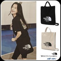 [THE NORTH FACE] WHITE LABEL BIG LOGO TOTE TOTE BAG _NN2PK09