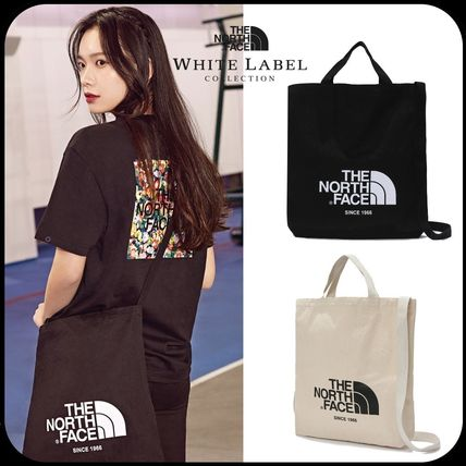 THE NORTH FACE トートバッグ [THE NORTH FACE] WHITE LABEL BIG LOGO TOTE TOTE BAG _NN2PK09