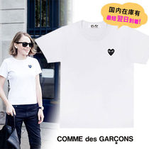 COMME des GARCONS(コムデギャルソン) Tシャツ・カットソー 《大人気》COMME des GARCONS Play プレイ 黒ハートロゴ Tシャツ