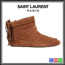 NEW★送料関税込SAINT LAURENT★NINO FRINGED SUEDE BOOTS