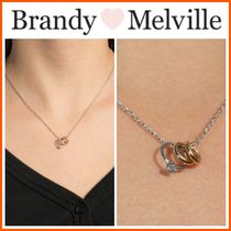 NEW!!☆Brandy Melville☆ GOLD AND SILVER RING CHARM NECKLACE
