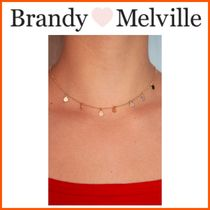 NEW!!☆Brandy Melville☆ GOLD MIRROR CHARM NECKLACE