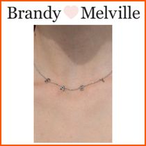 Brandy Melville(ブランディー メルビル) ネックレス・ペンダント NEW!!☆Brandy Melville☆SILVER BABY NECKLACE