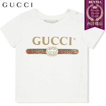 【正規品保証】GUCCI★19春夏★BABY T-SHIRT WITH GUCCI LOGO