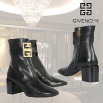 VIP価格【GIVENCHY】4G LEATHER ANKLE BOOTS 関税込