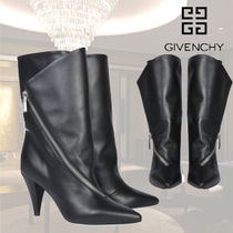 VIP価格【GIVENCHY】MEDIUM LEATHER BOOTS WITH ZIP 関税込