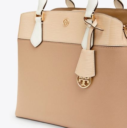 Tory Burch トートバッグ ROBINSON COLOR-BLOCK TRIPLE-COMPARTMENT TOTE(5)