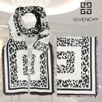 "VIP価格【GIVENCHY】""LEOPARD 4G"" CASHMERE BLEND SCARF 関税込"