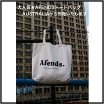 AFENDS(アフェンズ) トートバッグ バイロンベイ発祥☆AFENDS☆大容量ロゴトートバッグ 男女兼用