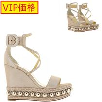 VIP価格!Christian louboutin WEDGE SHOES SHOES WOMEN