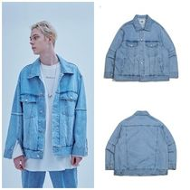 日本未入荷ADD SEOULのRAW EDGED DENIM TRUCKER JACKET