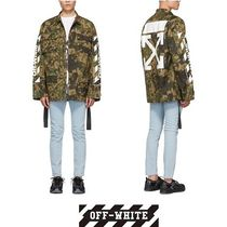 【Off-White】CAMOUFLAGE DIAG FIELD ジャケット