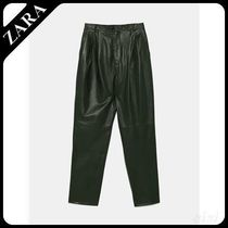 ★ZARA★ザラ  LIMITED EDITION LEATHER TROUSERS