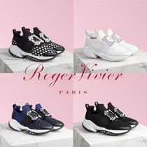 Roger Vivier 厚底バックルスニーカー