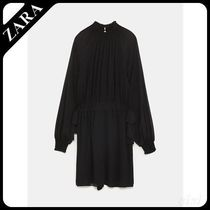 ★ZARA★ザラ  JUMPSUIT DRESS WITH BOWS