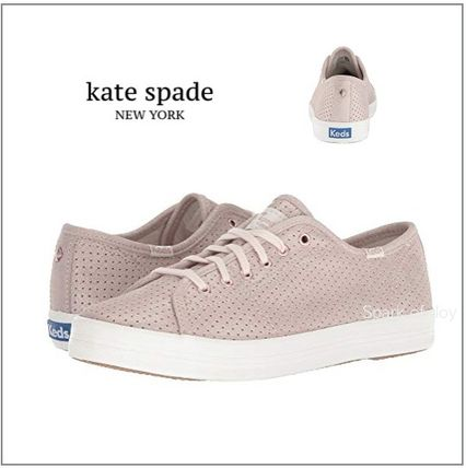 ★Keds x Kate Spade★kick start ferforatedローズゴールド★
