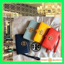 Happy Color☆ToryBurch 使い方色々♡ スマホ+携帯 ポーチ