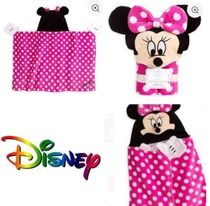 NY発 デイズニー Minnie Mouse Hooded Towel for Baby -