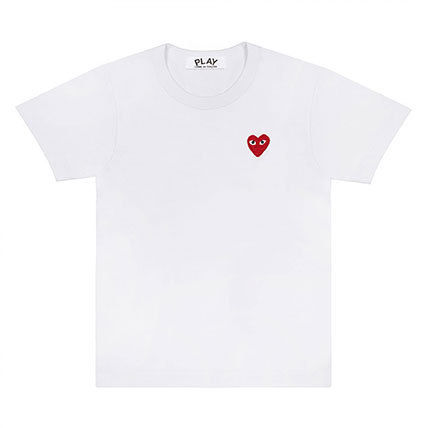 COMME des GARCONS Tシャツ・カットソー 《大人気》COMME des GARCONS Play ハートロゴTシャツ カラバリ(2)