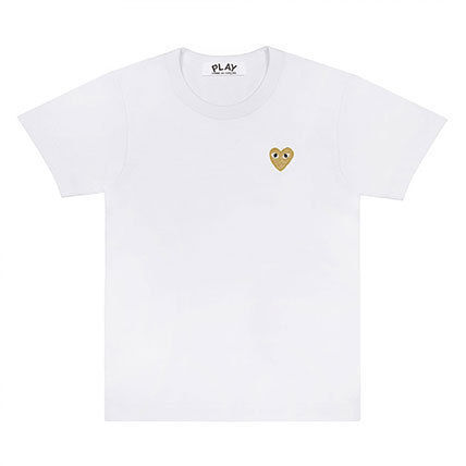 COMME des GARCONS Tシャツ・カットソー 《大人気》COMME des GARCONS Play ハートロゴTシャツ カラバリ(4)