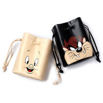 STEREO VINYLS COLLECTION(ステレオビニールズコレクション) バッグ・カバンその他 ★STEREOXLOONEY TUNES★韓国 ポーチバック Pouch Bag【全2色】