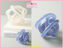 最安値保証*関送料込【Anthro】Glitter Knot Decorative Object